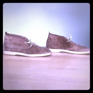 Loro Piana Men's suede ankle boots